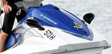 Masonic Square on Jetski